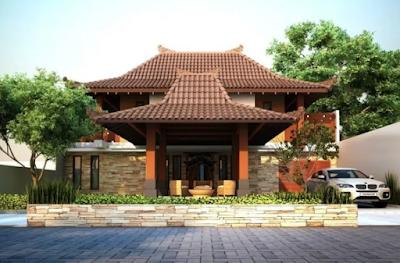 model atap rumah minimalis rumah joglo sederhana