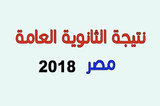 رابط نتيجة الثانوية العامة 2018 برقم الجلوس اليوم السابع فيتو مصراوي الوطن موقع وزارة التربية والتعليم
