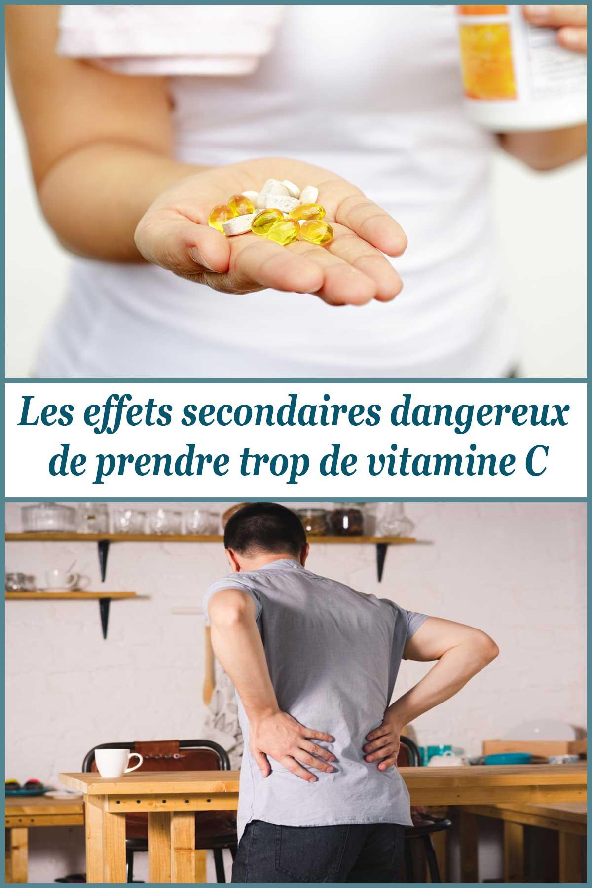 Les effets secondaires dangereux de prendre trop de vitamine C
