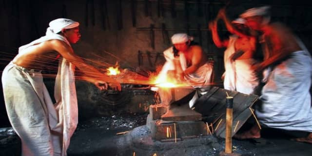 empu pembuat keris, teknik pembuatan keris