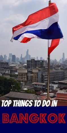 Top things to do in Bangkok Pin