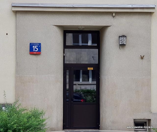 warszawa warsaw powiśle ulice warszawy architektura syrkus henrich kamienica architecture drzwi