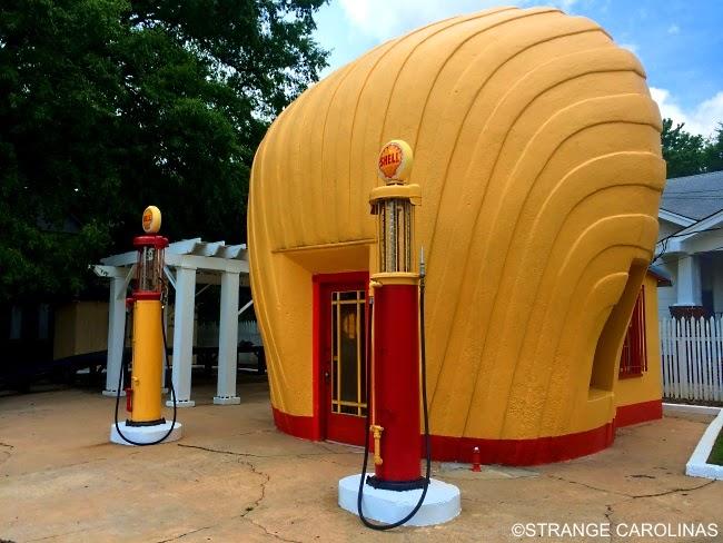 Used Cars Winston Salem Nc >> Shell-Shaped Shell Service Station (Winston-Salem, NC) | Strange Carolinas: The Travelogue Of ...