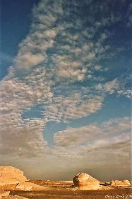 The White Desert by Omar Cherif, The Guardian Angels of the White Desert, One Lucky Soul