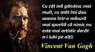 Maxima zilei: 30 martie - Vincent Van Gogh