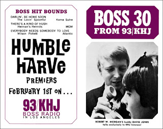 KHJ Boss 30 No. 82 - Robert W. Morgan with Davy Jones