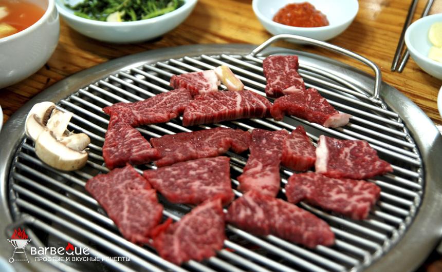 Говядина на гриле по-корейски