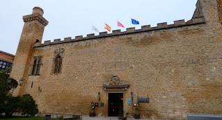 Palacio Viejo o Parador Nacional de Olite.
