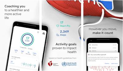 Aplikasi google fit