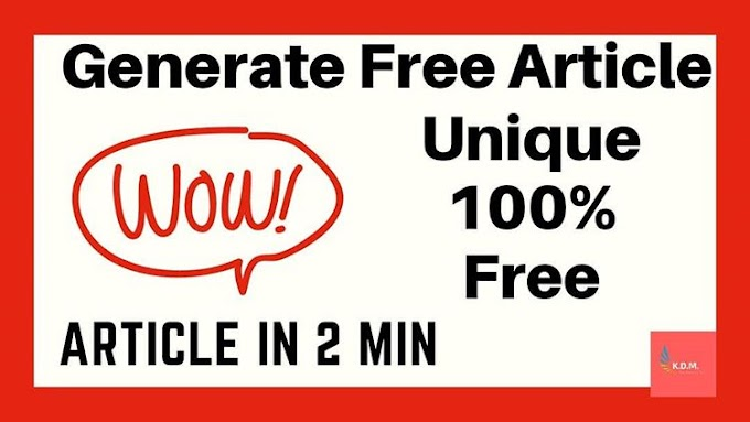 How to create Unlimited Unique Articles Made Easy