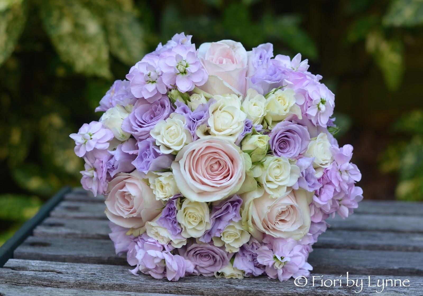 Wedding Flowers Blog: Lara's Pink And Lilac Summer Wedding