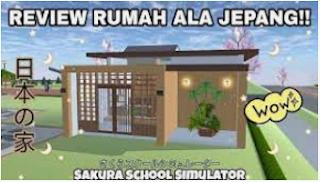 ID Rumah Jepang di Sakura School Simulator Simak Disini