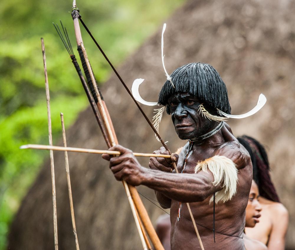 Cerita Mengharukan Saat Ustaz Papua Ditombak Kepala Suku
