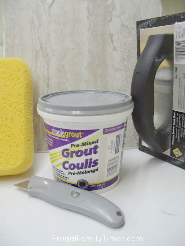 grout for vinyl tile