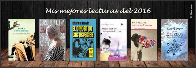 Mejores lecturas del 2016 del blog literario y blog teatral Deja volar tu imaginación (Devoim)
