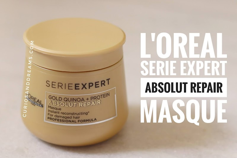 Loreal absolut repair hair mask, Loreal absolut repair hair mask review, Loreal series expert hair mask, Loreal hair mask, Loreal hair mask review