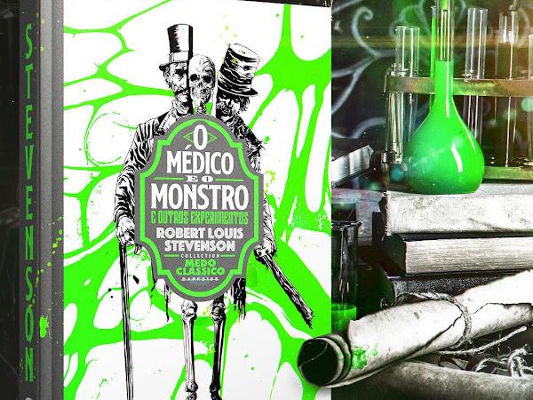 Darkside Books anuncia Robert Louis Stevenson na coleção Medo Clássico: O Médico e o Monstro & Outros Experimentos
