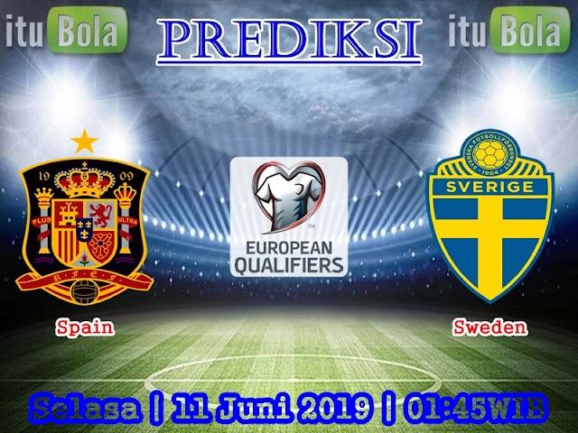 Prediksi Spain vs Sweden - ituBola