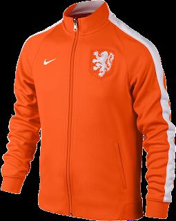 Jaket Orange