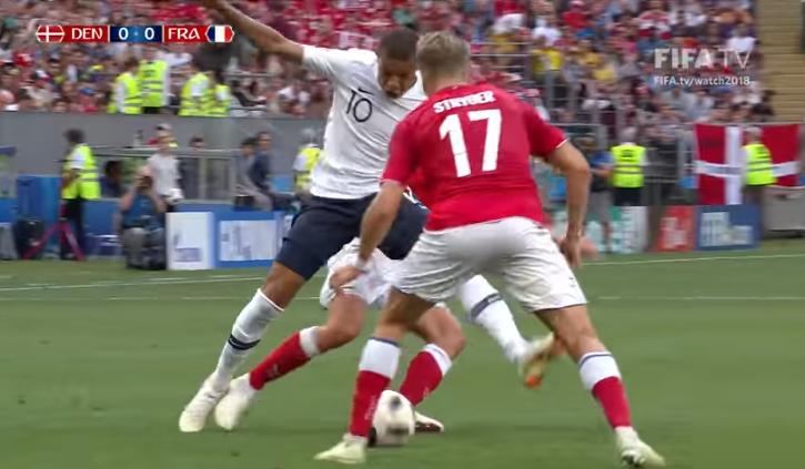 Francia tuvo mayores posibilidades pero no pudo abrir el marcador / CAPTURA FIFA TV
