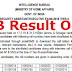 IB Result 2018 Tier-I Out for Security Assistant / Executive – Get Here Direct Link