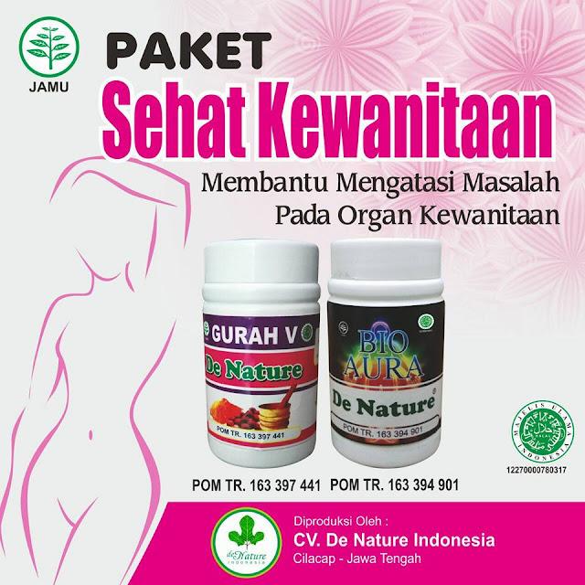 Obat Infeksi Jamur Miss V Herbal de Nature