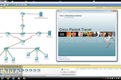 Donwload Cisco Packet Tracer v71 x86