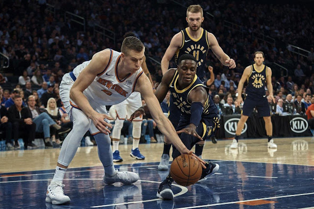 Kristaps Porzingis drops career-high 40 points, leads Knicks' late comeback in win over Pacers Onlinelatesttrends