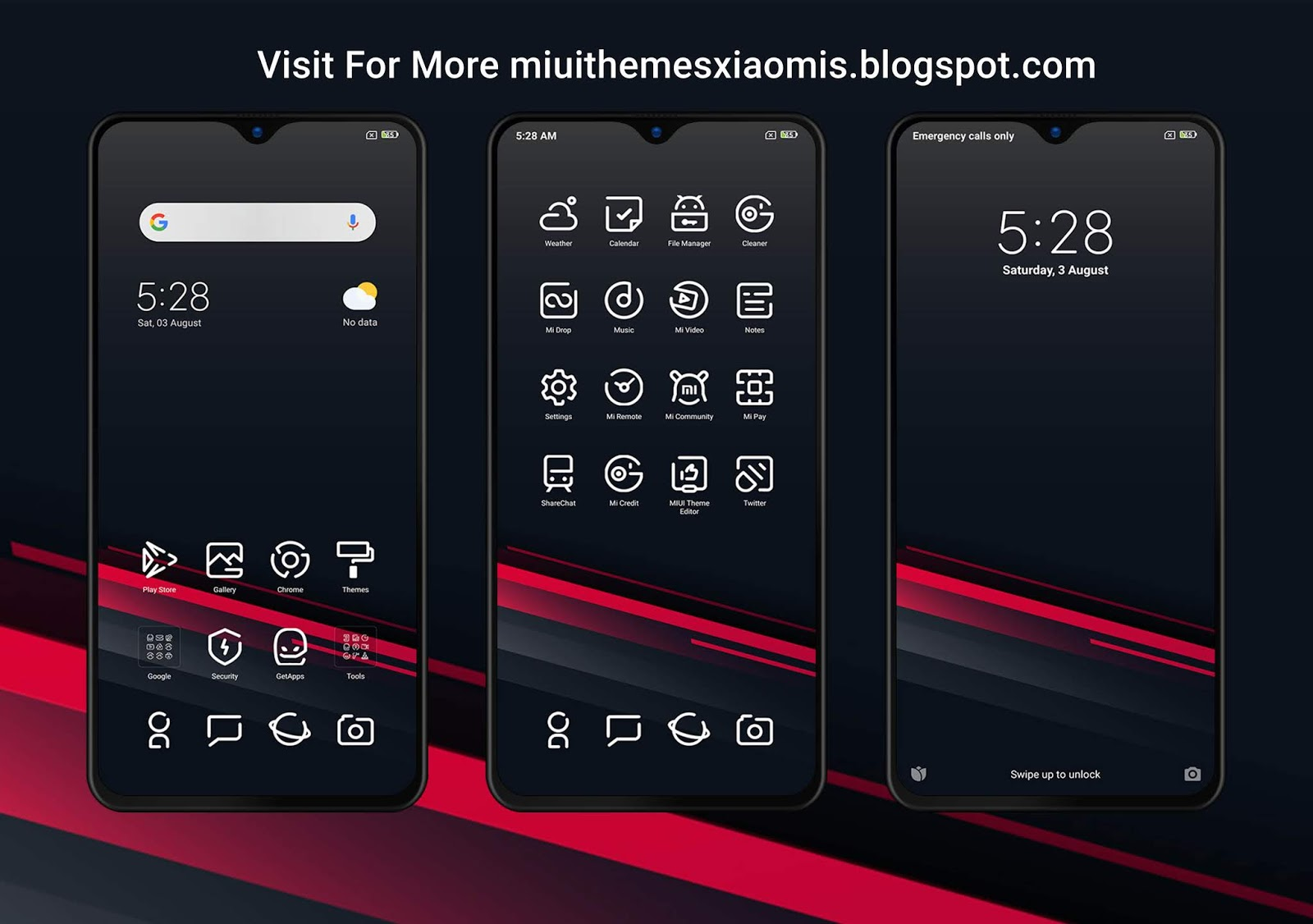 Young Forever V10 MIUI Theme Downloaded For Xiaomi Mobile