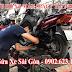 Sửa xe lưu động, cứu hộ xe máy Honda Spacy tận nơi tại HCM