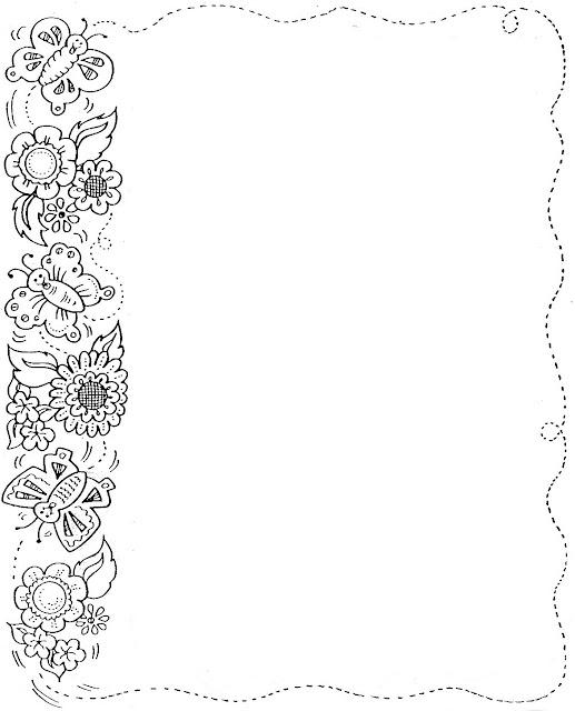 Dibujos para hojas de cartas - Imagui