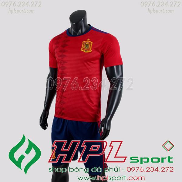 Áo đội tuyển Tây Ban Nha màu đỏ 2020