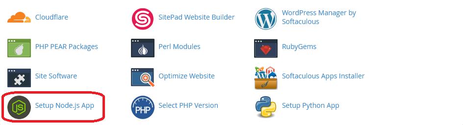 cara upload node js di cpanel shared hosting