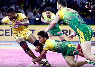 Pro Kabaddi League 2019: Patna Pirates beat Telugu Titans 34-22