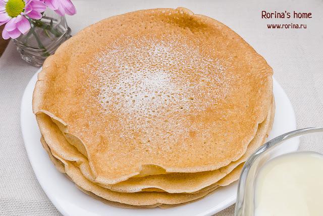 ПП-блины из овсяной муки на молоке и яйцах: классический рецепт