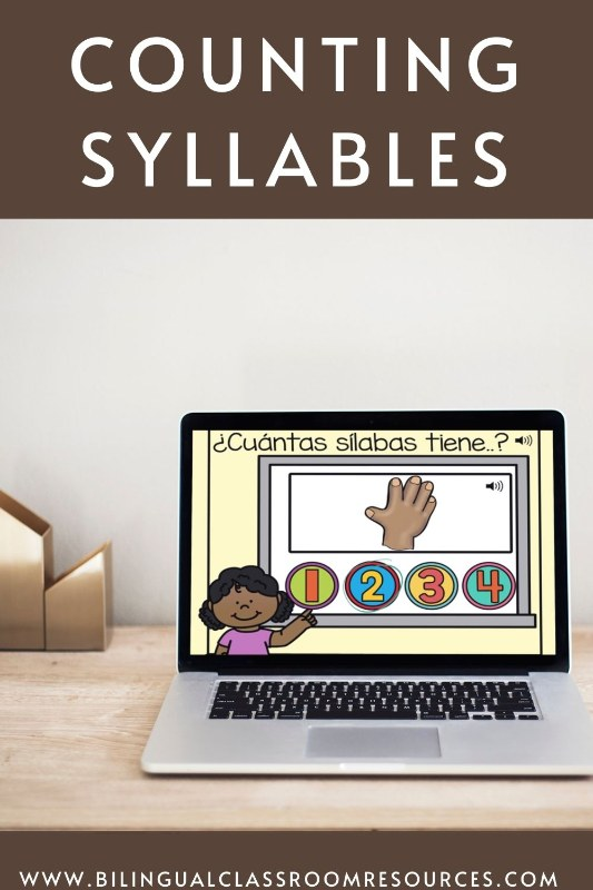 Counting Syllables in Spanish l Contando sílabas
