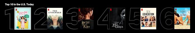 Netflix lançou Top 10