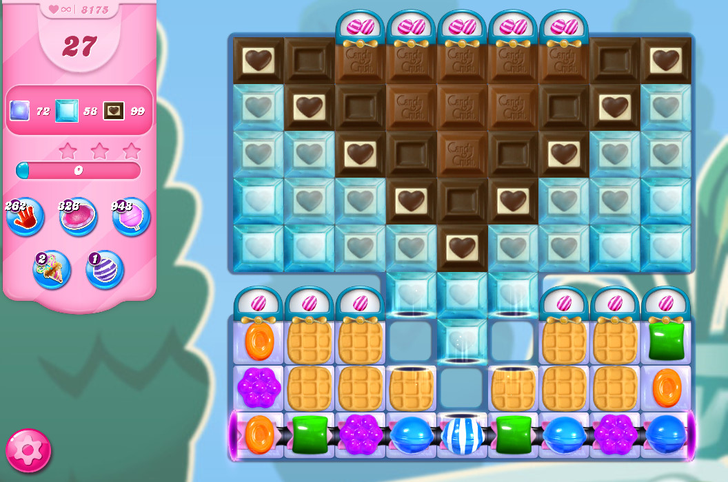 Candy Crush Saga level 8175