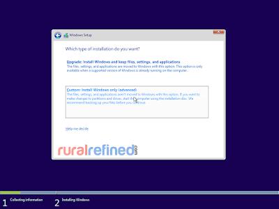 cara mudah install windows 10 pakai flashdisk dvd