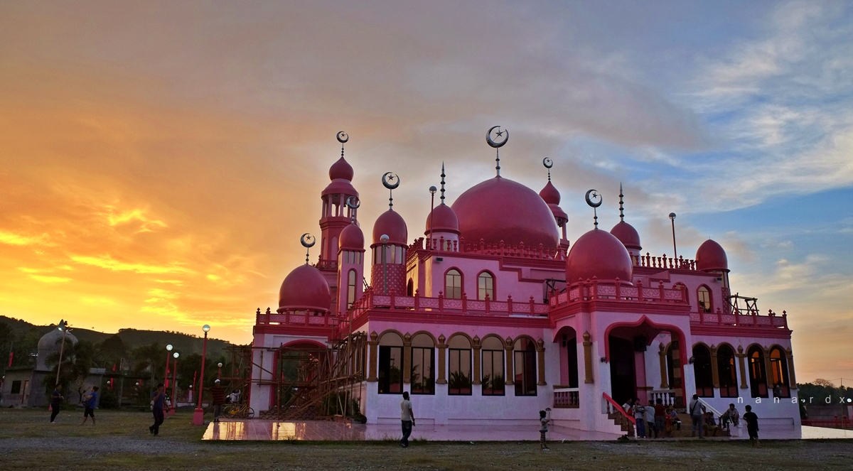 Pink Mosque in Maguindanao