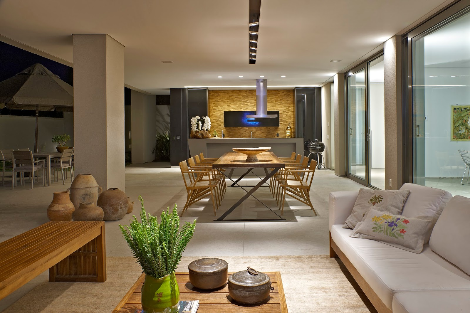 Construindo minha casa clean casa luxo veja a decora o for Ambientes casas modernas