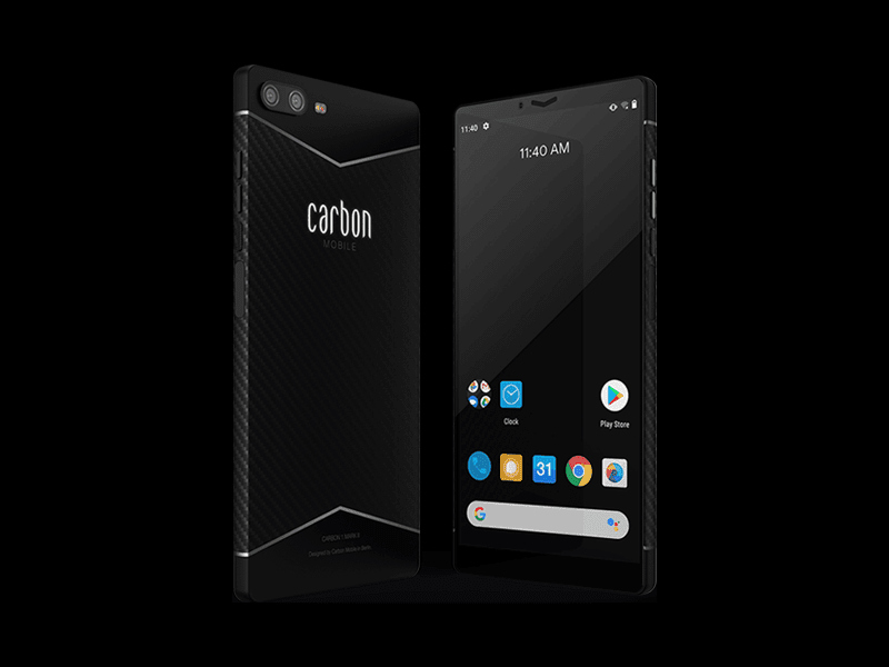 Carbon 1 Mark II is the first carbon fiber smartphone
