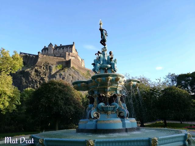 Edinburgh Castle Princes Street Garden Place To Visit