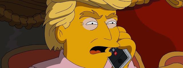 Les Simpson avaient imaginé la victoire de Donald Trump il y a 16 ans