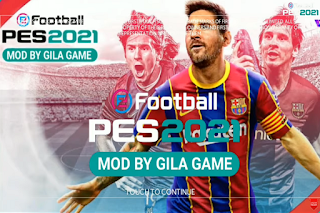 Download FTS MOD EFootball PES 2021 HD | Patch Pro ...