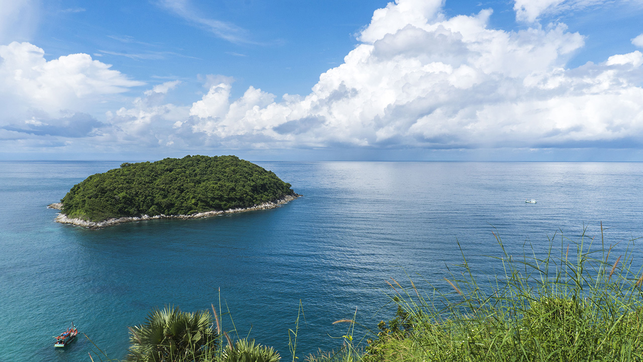 Nai Harn Beach Bay Phuket Thailand Andaman
