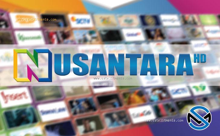Daftar Lengkap Channel dari Siaran Nusantara HD