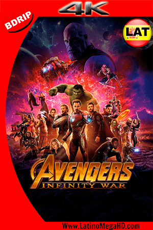 Avengers: Infinity War (2018) Latino Ultra HD BDRIP 2160P - 2018