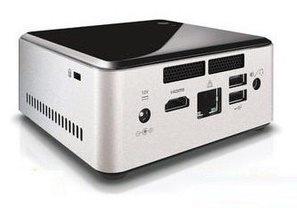 Desktop Nuc Intel Ultratop N2830 vem com processador dual-core