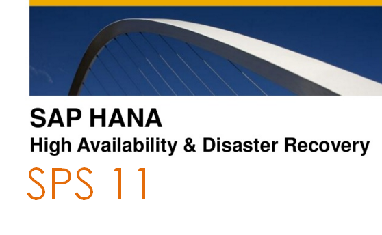 High availability disaster recovery